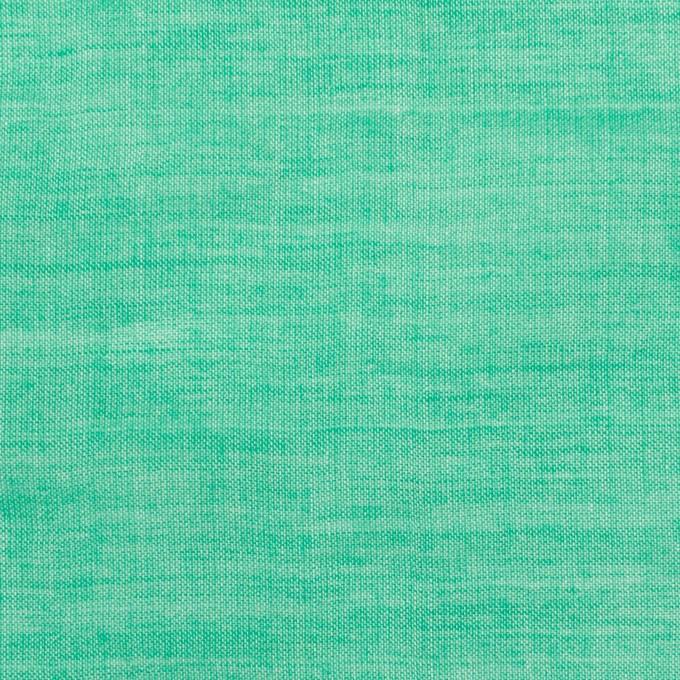 テンセル&コットン混×無地(エメラルドグリーン)×ボイルシャーリング_全4色 イメージ1