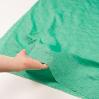 テンセル&コットン混×無地(エメラルドグリーン)×ボイルシャーリング_全4色 サムネイル5