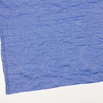 テンセル&コットン混×無地(ブルー)×ボイルシャーリング_全4色 サムネイル2