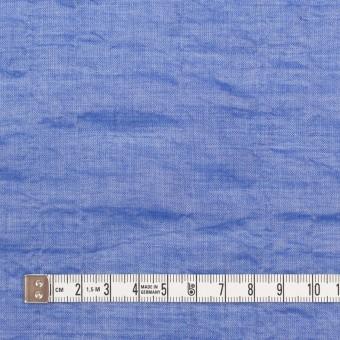 テンセル&コットン混×無地(ブルー)×ボイルシャーリング_全4色 サムネイル4