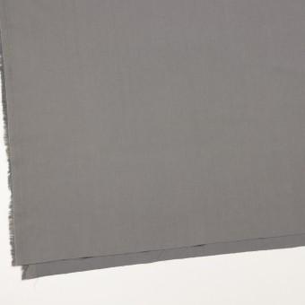 コットン&ビスコース混×無地(スチール)×サージストレッチ_全4色_イタリア製 サムネイル2