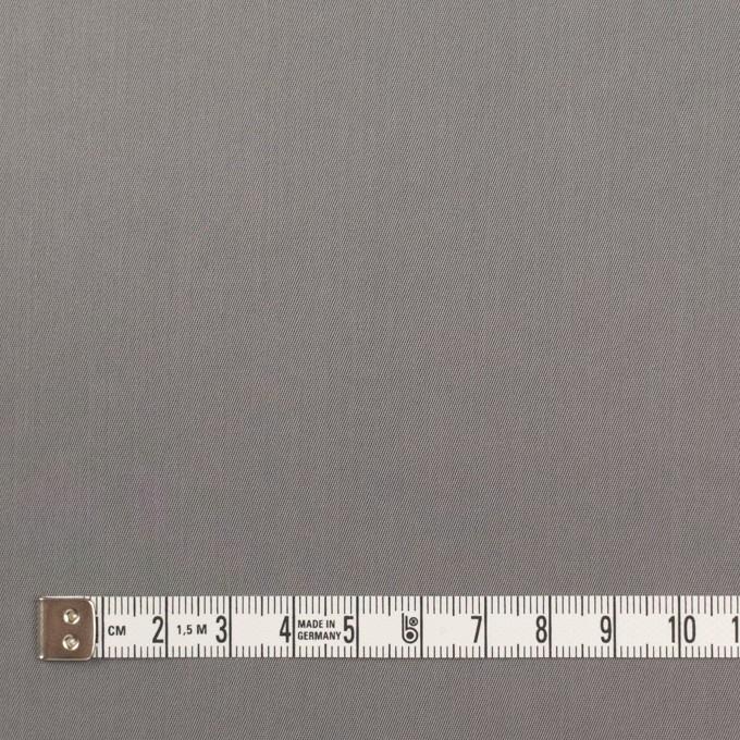 コットン&ビスコース混×無地(スチール)×サージストレッチ_全4色_イタリア製 イメージ4