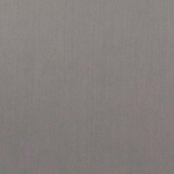 コットン&ビスコース混×無地(スチール)×サージストレッチ_全4色_イタリア製 イメージ1