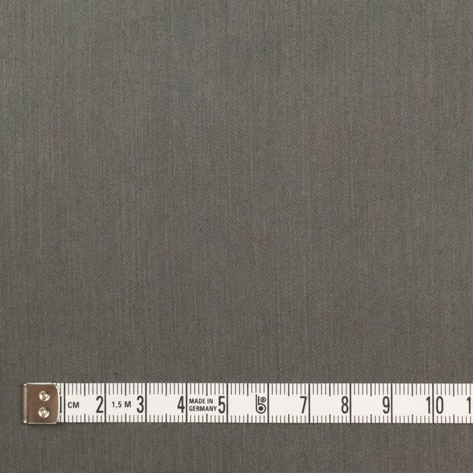 コットン&ビスコース混×無地(チャコールグレー)×サージストレッチ_全4色_イタリア製 イメージ4