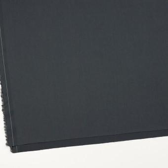 コットン&ビスコース混×無地(チャコール)×サージストレッチ_全4色_イタリア製 サムネイル2