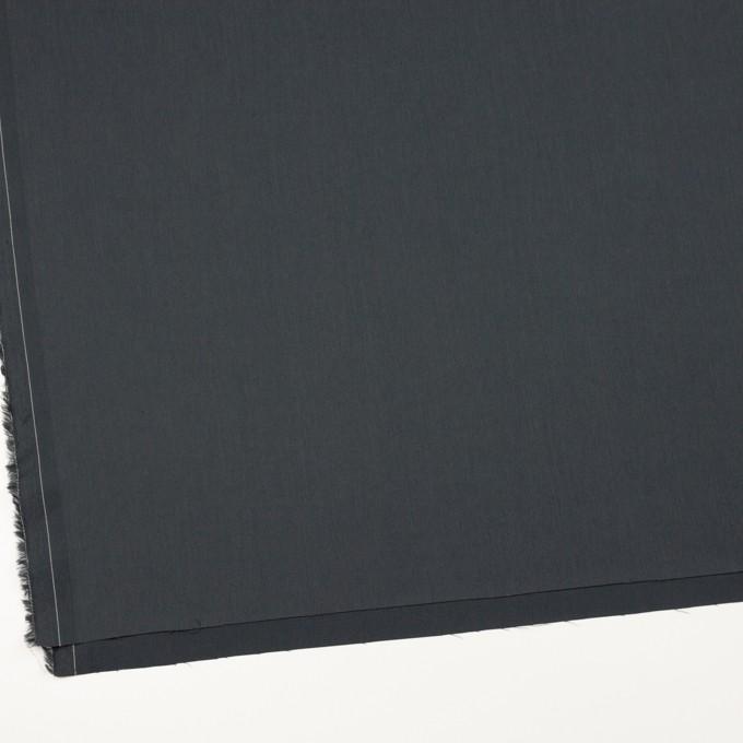 コットン&ビスコース混×無地(チャコール)×サージストレッチ_全4色_イタリア製 イメージ2