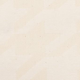 コットン×千鳥格子(キナリ)×ジャガード サムネイル1