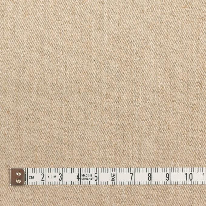 リネン&レーヨン×無地(カーキベージュ)×サージ イメージ4