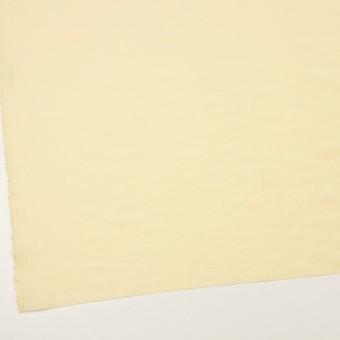 コットン&ポリアミド混×無地(クリームイエロー)×ローンワッシャー_イタリア製 サムネイル2