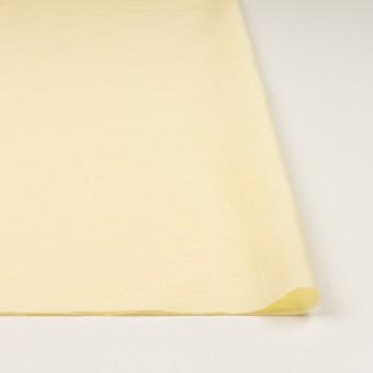 コットン&ポリアミド混×無地(クリームイエロー)×ローンワッシャー_イタリア製 サムネイル3