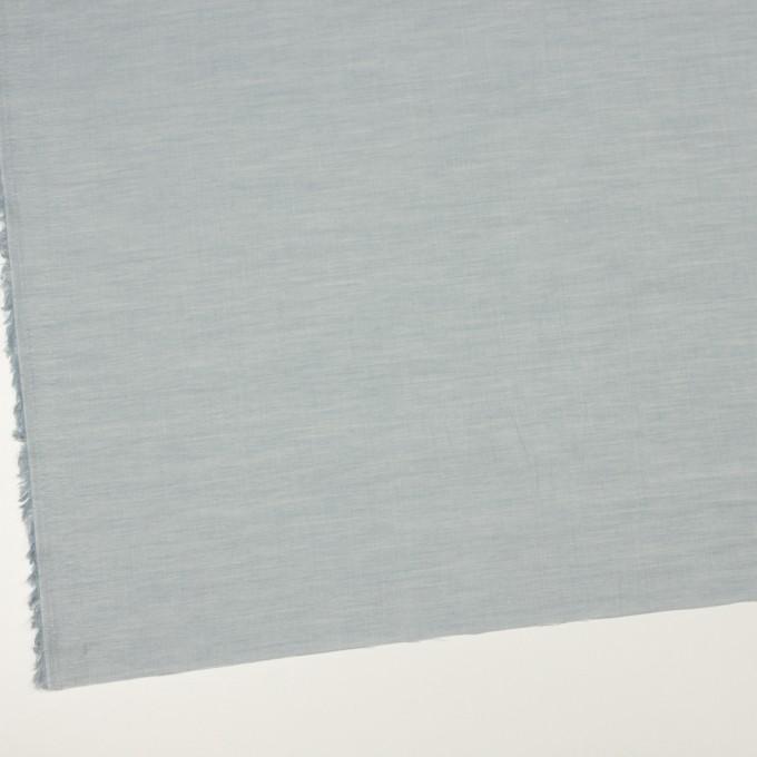 コットン×無地(ブルーグレー)×シャンブレー_全3色_イタリア製 イメージ2
