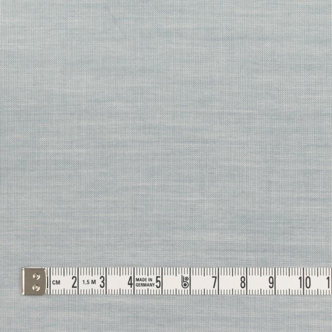 コットン×無地(ブルーグレー)×シャンブレー_全3色_イタリア製 イメージ4
