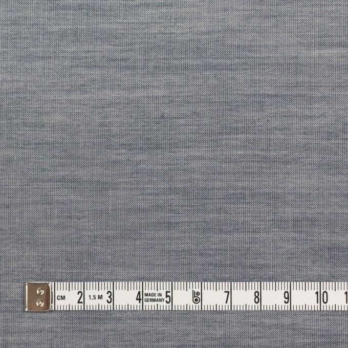 コットン×無地(アッシュネイビー)×シャンブレー_全3色_イタリア製 イメージ4