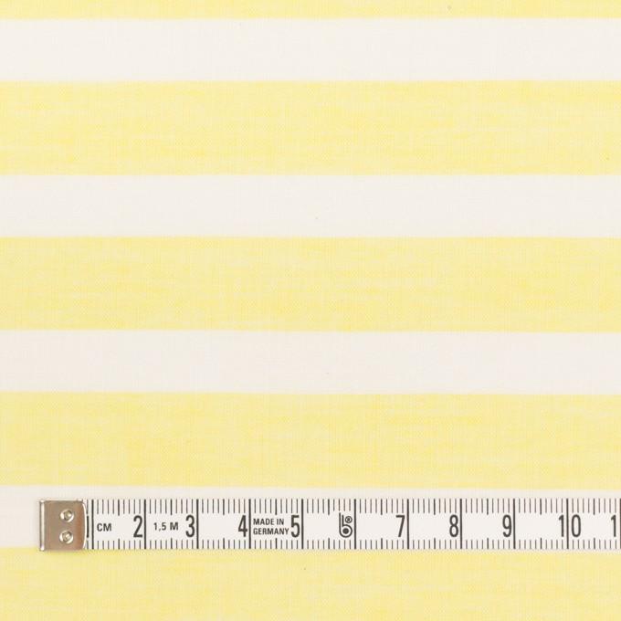 コットン&テンセル×ボーダー(レモン)×ボイル_全2色 イメージ4