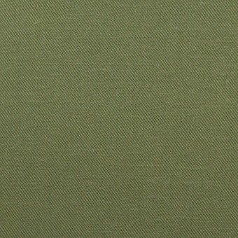 コットン×無地(カーキグリーン)×チノクロス サムネイル1