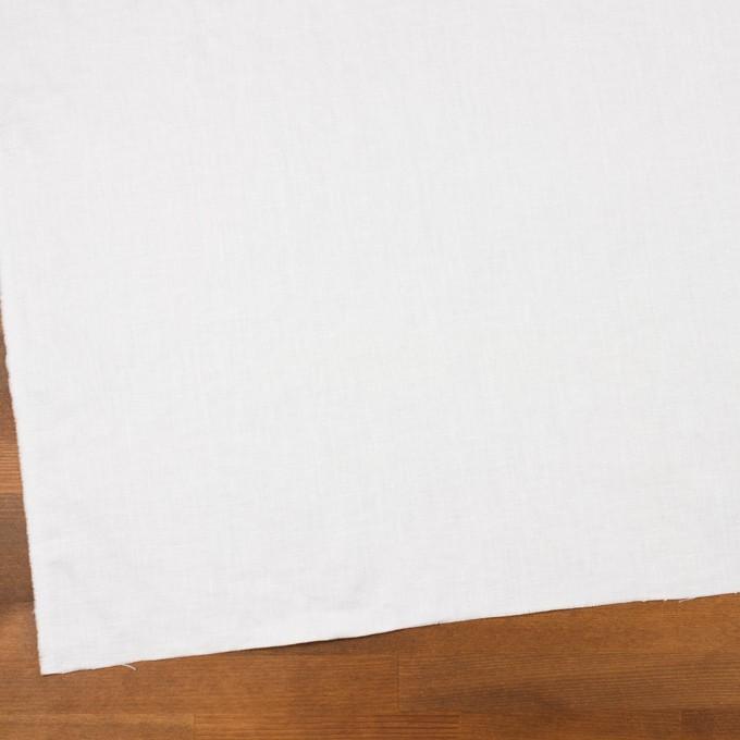 リネン×無地(ホワイト)×サージ_全6色 イメージ2