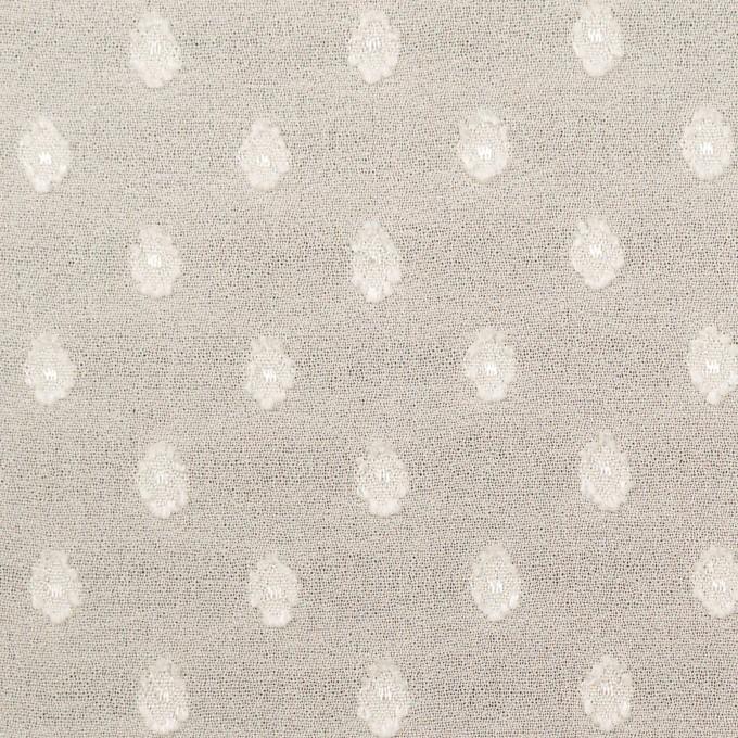 ポリエステル×ドット(キナリ)×ジョーゼット・カットジャガード_全3色 イメージ1