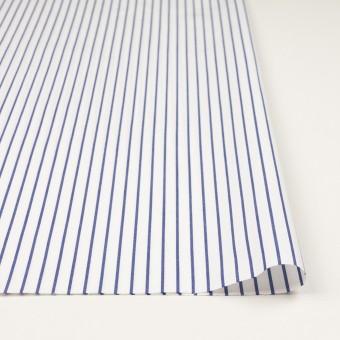 コットン×ストライプ(ブルー)×ポプリン_全2色 サムネイル3
