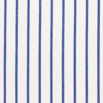 コットン×ストライプ(ブルー)×ポプリン_全2色 サムネイル1