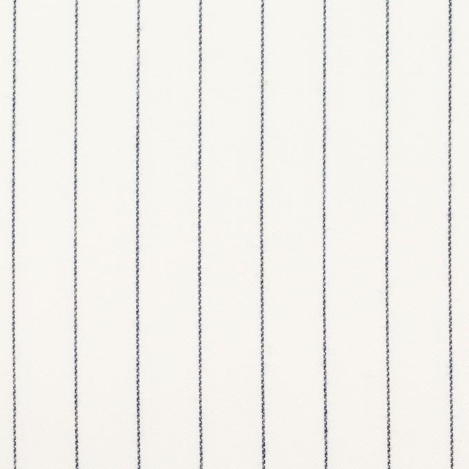 コットン×ストライプ(オフホワイト)×サージ イメージ1