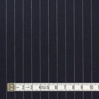 コットン×ストライプ(ダークネイビー)×サージ サムネイル4