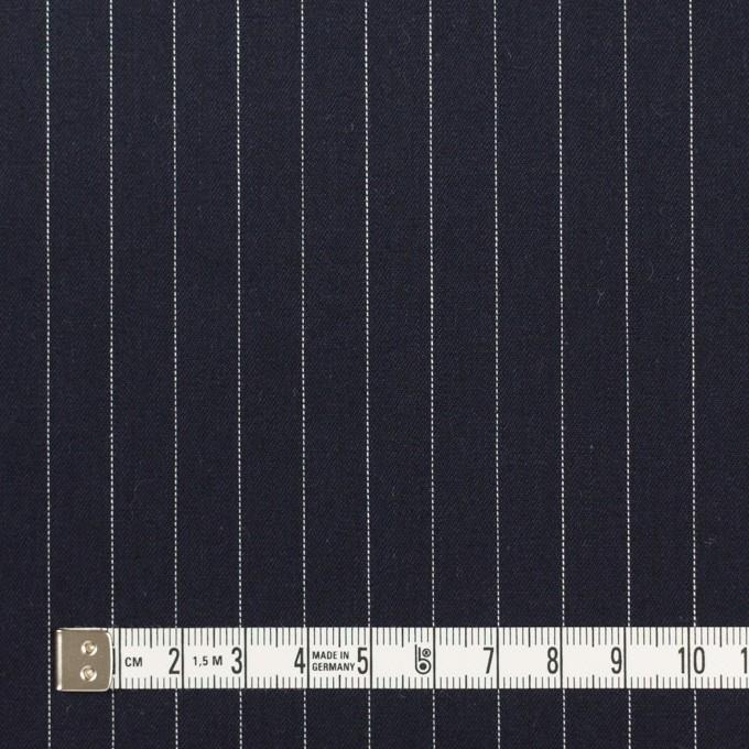 コットン×ストライプ(ダークネイビー)×サージ イメージ4