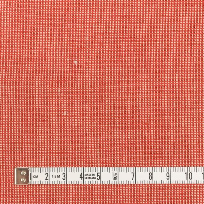 リネン×無地(レッド)×斜子織_全2色 イメージ4