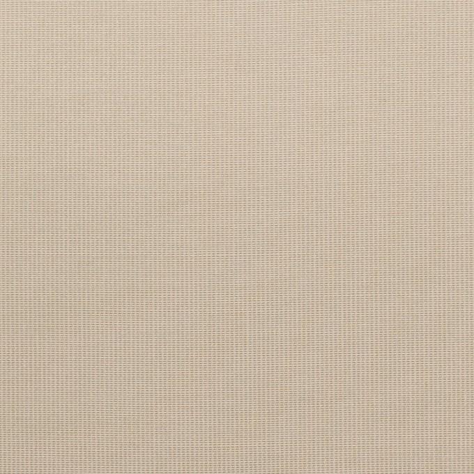 コットン&ポリエステル×無地(カーキベージュ)×かわり織_全3色_イタリア製 イメージ1
