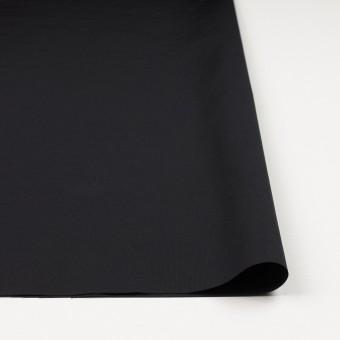 コットン&ポリエステル×無地(ブラック)×かわり織_全3色_イタリア製 サムネイル3