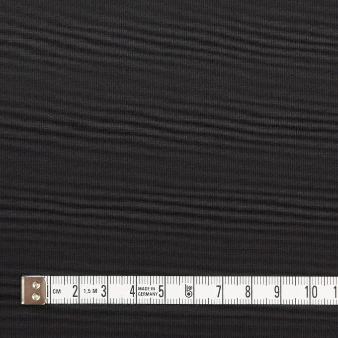 コットン&ポリエステル×無地(ブラック)×かわり織_全3色_イタリア製 イメージ4