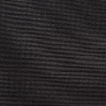 【150cmカット】コットン&ポリエステル×無地(ブラック)×かわり織_全3色_イタリア製