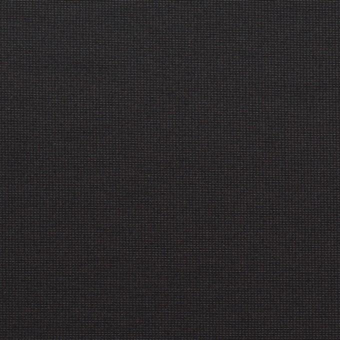 コットン&ポリエステル×無地(ブラック)×かわり織_全3色_イタリア製 イメージ1