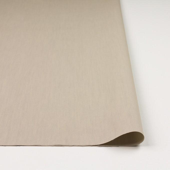 コットン&ポリアミド×無地(カーキベージュ)×シャンブレー_全2色_イタリア製 イメージ3