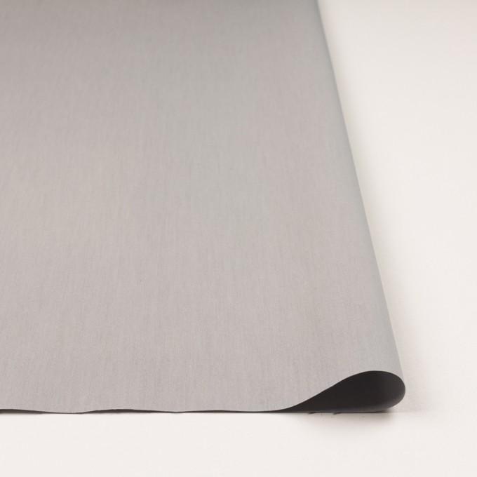 コットン&ポリアミド×無地(スチール)×シャンブレー_全2色_イタリア製 イメージ3