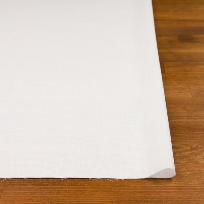 コットン×無地(ホワイト)×ボイル_全4色 イメージ3