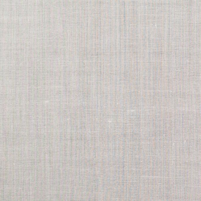 コットン×無地(ホワイト)×ボイル_全4色 イメージ1