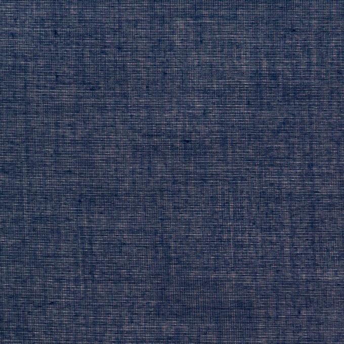 コットン×無地(ネイビー)×ボイル_全4色 イメージ1