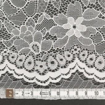 ナイロン&ポリエステル×フラワー(ホワイト)×ラッセルレース_全3色 サムネイル3