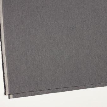 コットン×無地(グレー)×厚オックスフォード_イタリア製 サムネイル2