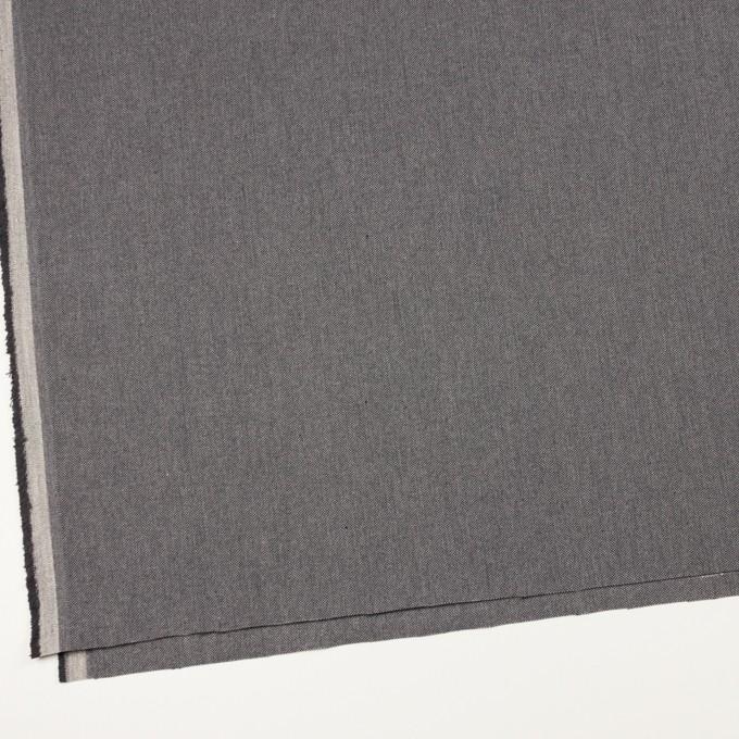 コットン×無地(グレー)×厚オックスフォード_イタリア製 イメージ2