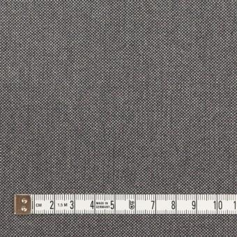 コットン×無地(グレー)×厚オックスフォード_イタリア製 サムネイル4