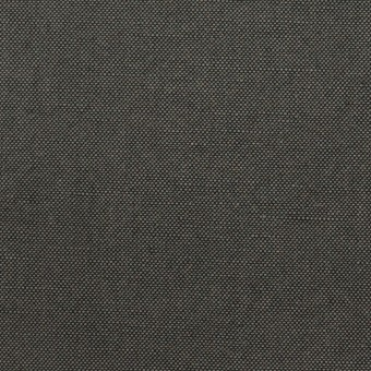 コットン&リネン×無地(チャコールグレー)×厚オックスフォード・ワッシャー_イタリア製 サムネイル1