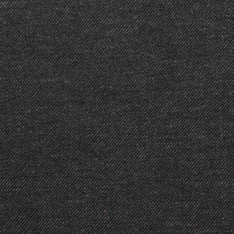コットン×無地(チャコールグレー)×デニム(6.5oz)