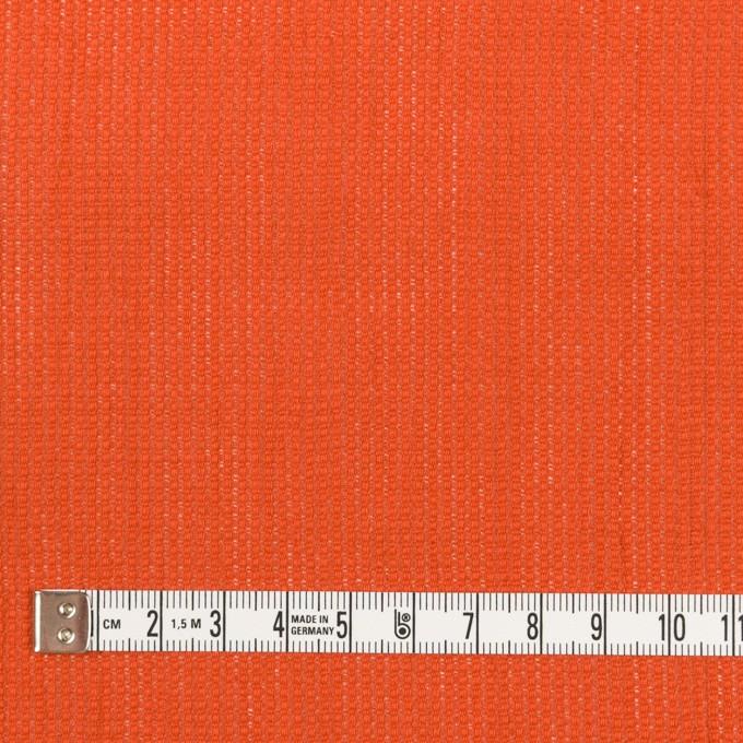 リネン&コットン×無地(バレンシアオレンジ)×かわり織ワッシャー_全4色 イメージ4