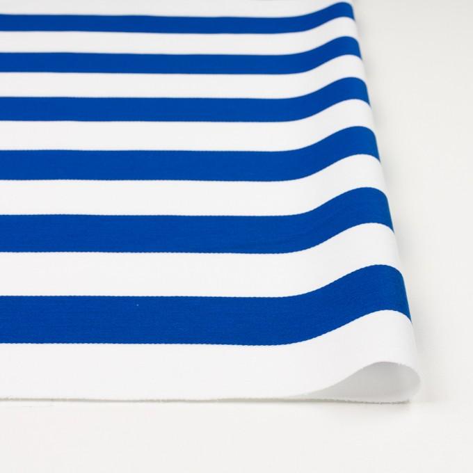 コットン×ボーダー(ブルー)×Wニット_全3色 イメージ3