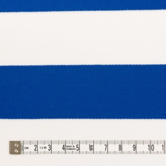 コットン×ボーダー(ブルー)×Wニット_全3色 サムネイル4