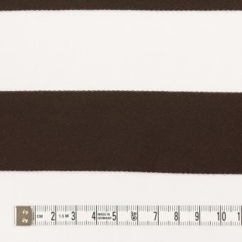 コットン×ボーダー(カーキブラウン)×Wニット_全3色 サムネイル4