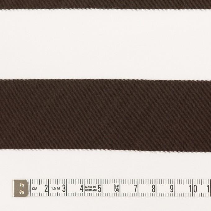 コットン×ボーダー(カーキブラウン)×Wニット_全3色 イメージ4