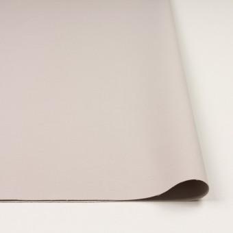 コットン&ポリアミド混×無地(オイスター)×二重織ストレッチ_イタリア製 サムネイル3