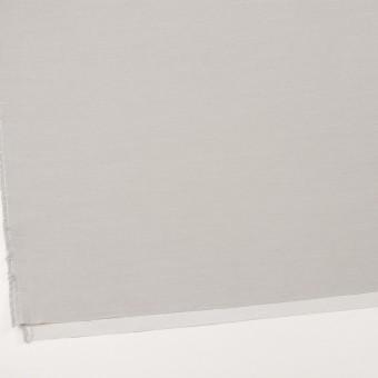 コットン×無地(ライトグレー)×二重織_イタリア製 サムネイル2